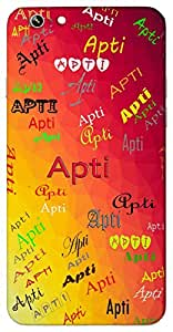Apti (Fortune) Name & Sign Printed All over customize & Personalized!! Protective back cover for your Smart Phone : Samsung Galaxy A-7