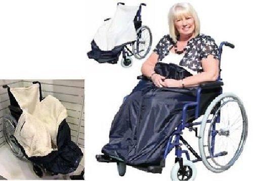 Rollstuhl Wärmesack,Schlupfsack, Wärme-Sack für Rollstuhlfahrer 13959 Nachtblau