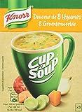 Knorr Soupe Instantanée Cup a Soup Douceur de 8 Légumes 3 x 16 g