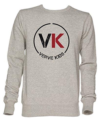 Vk Verve Kids Unisex Grau Jumper Sweatshirt Herren Damen Größe S | Jumper for Men and Women Size S