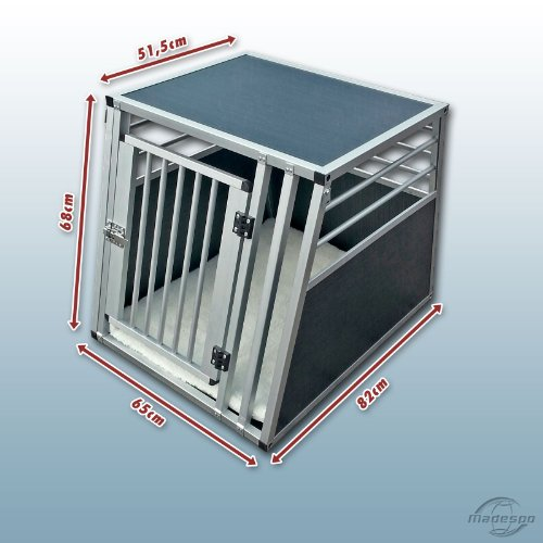 hundeinfo24.de Hundebox / Alubox / Hundetransportbox / Autobox + Einlegematte Inbus-Verschraubung Größe L