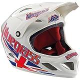 Fullface Helm Brave JACK WHITE/RED/BLUE XL (60-62cm)