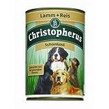 6 x Allco Christopherus Lamm & Reis pur Schonkost 400 g, Hundefutter, Nassfutter