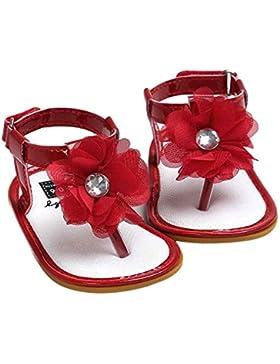 logobeing Bebé Niña Pearl Sandalias Princesa Zapatos de Niño, La Primera Elección del Niño