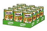 Kitekat Katzenfutter Nassfutter Adult für erwachsene Katzen mit Geflügel und