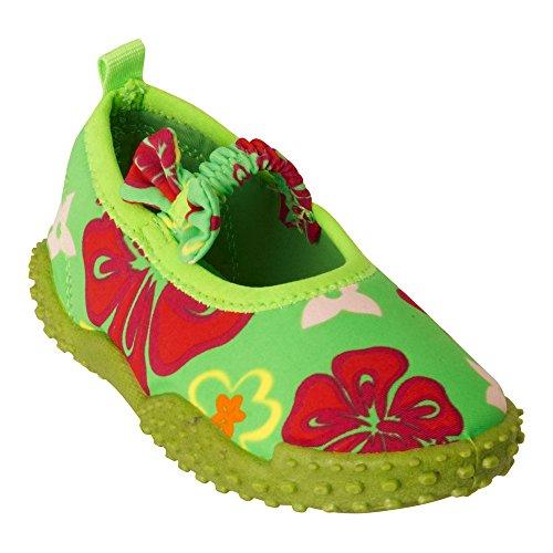 GALLUX - Kinder Aqua Schuhe Badeschuhe Mädchen mit UV Schutz Grün