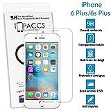 topaccs–Apple iPhone 6Plus und 6S mehr; Echtes Glasscheibe gehärtetem Ultra widerstandsfähig–Schutz Display–mit Box