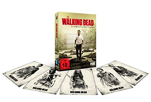 The Walking Dead - Die komplette sechste Staffel - Uncut Version inkl. Postkarten (exklusiv bei Amazon.de) [Blu-ray] [Limited Edition]