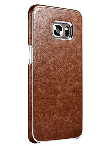 Techstudio™Exclusive Genuine Leather Back Cover for Samsung Galaxy S7 EDGE – Vintage Series