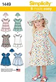 SIMPLICITY TODDLERS DRESSES-1/2-1-2