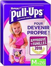 Huggies Pull Ups mutandina per lo spannolinamento Bambina, Taglia M, (10-18 Kg), 2x26 Pannolini