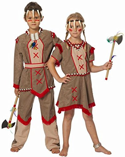 dischen Hiawatha 11–12Jahre (Baby Indische Kostüme)