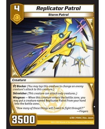 Kaijudo TCG - Replicator Patrol (6/80) - Shattered Alliances by Kaijudo: Rise of the Duel Masters