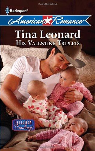 His Valentine Triplets (Harlequin American Romance)