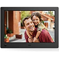 NIX Advance Digital Photo Frame 15 inch X15D. Electronic Photo Frame USB SD/SDHC. Clock & Calendar Function. 8GB USB included. Digital Picture Frame with Motion Sensor