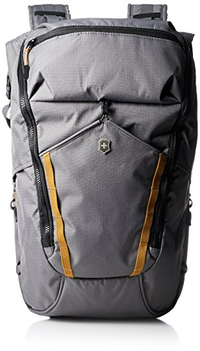 Victorinox Unisex-Erwachsene Altmont Active Deluxe Rolltop Laptop Backpack Rucksack, grau, Einheitsgröße -