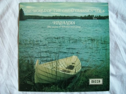 SPA 91 Finlandia Music of Grieg & Sibelius London proms SO Mackerras LP (Prom Spa)