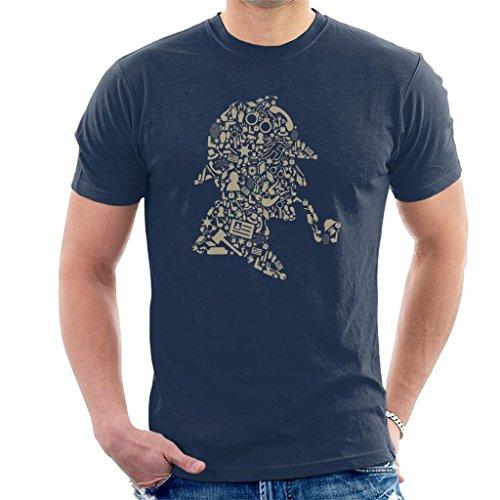 Cloud City 7 Sherlock Holmes Collage Men's T-Shirt
