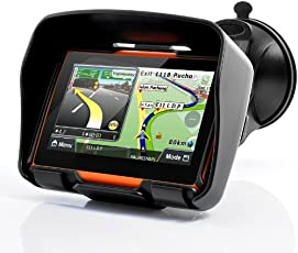 """Etbotu Motorrad Wasserdichtes Navigationsgerät 4,3 Zoll Motorrad GPS Navigationssystem""""Rage"""" - Wasserdicht, 4 GB interner Speicher, Bluetooth"""