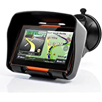 """BW® todo terreno para Moto sistema de navegación GPS (pantalla de 4,3""""Rage–resistente al agua, 4GB de memoria interna, Bluetooth"""