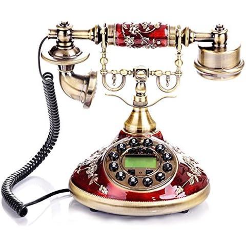 Europeo - stile rurale Telefono antico modo sveglio antico creativo Retro Piano Casa.
