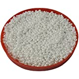 Eshoppee White, Cream, Ivory Family Colors Glass Seed Beads Pot 100 Gm (approx 3000 Beads) For Jewellery Making And Home Decoration,DIY Kit (white 09) Size 8/0