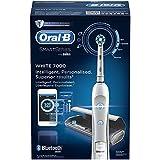 Oral-B White 7000 CrossAction SmartSeries Brosse à Dents Electrique Rechargeable avec Technologie Bluetooth, par Braun