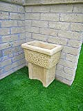 Dordogna Waschbecken/Trog für den Außenbereich, 60x 40x 74cm, in verschiedenen Farben