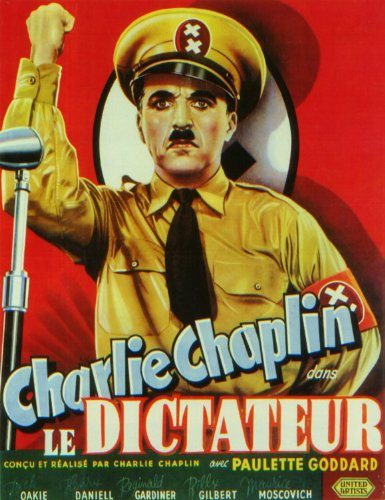 The Great Dictator Affiche du film Poster Movie Le dictateur grand (11 x 17 In - 28cm x 44cm) Belgian Style A