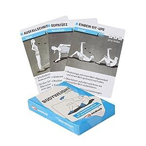 WINDHUND Trainingskarten Bodyweight classic – Übungen ohne Geräte