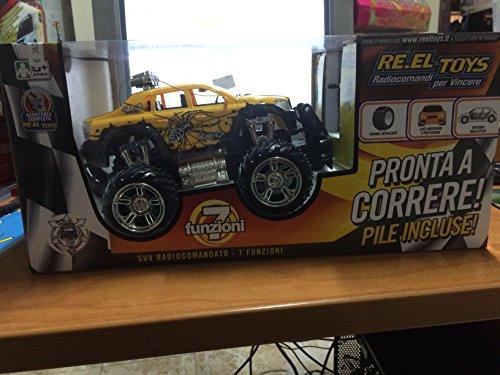 Re.El. Toys 2052 - Hot Pick-Up Rosso R/C SUV 7 funzioni Scala 1:16