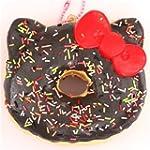 brown sprinkles Hello Kitty donut squ...