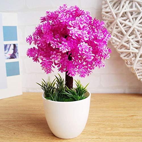 LWBAN-Flower Artificial Flowers Feng Shui Dekoration Home Decoration künstliche Blumen künstlicher Baum heiß Simulation Begrüßen Kiefer (Sehr Viel Farbe) Wohnzimmer Kreative Dekorationen Büro, 72 (72 Bücherregal)