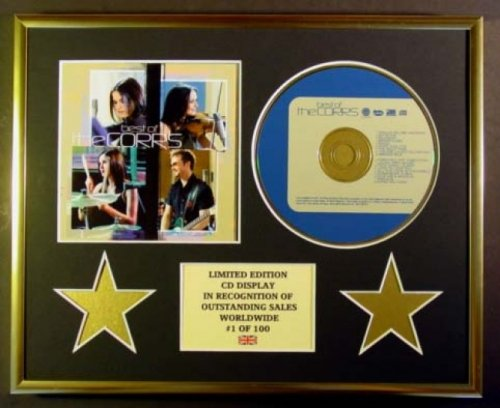 THE CORRS/CD DISPLAY/ LIMITED EDITION/COA/BEST