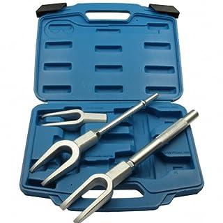 3 x Kraft-Trenngabel Gabel Montagegabel für Traggelenk, Spurstangenkopf und Kugelgelenk Maulöffnung 17 24 29 mm (Fahrwerk-Instandsetzung Werkzeug)