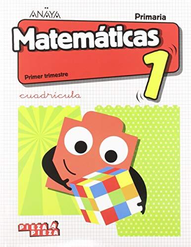 Matemáticas 1. Cuadrícula. (Incluye Taller de Resolución de problemas) (Pieza a Pieza)