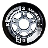 K2 Skates 84mm Performance Wheel 4-Pack Inline Skate Ersatzrollen 4er 30B3003.1.1