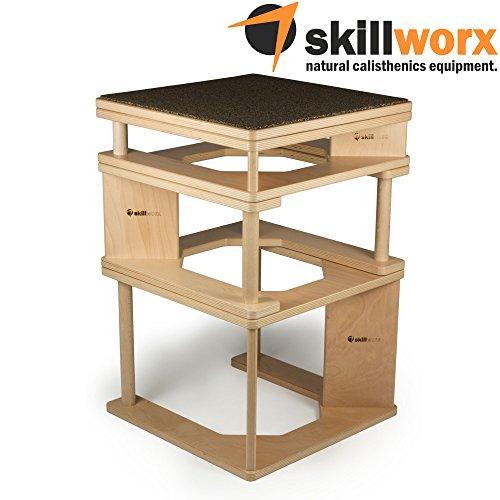 skillworx plyollettes Juego–Lucent Edition: 3en 1PLYO BOX hasta...