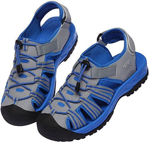 SNRD  SN210,  Damen Sneaker Low-Tops Grau / Blau