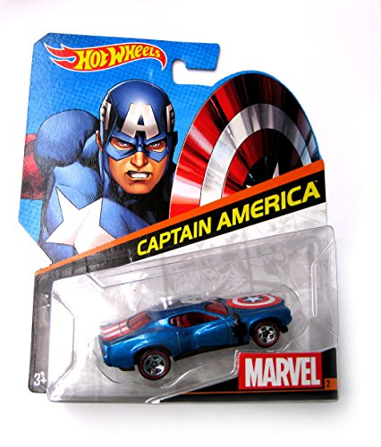 Hot Wheels Marvel Captain America 1:64