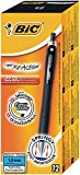 Bic Reaction RT Stylo bille rétractable Noir Lot de 12