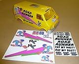 RC 'Straße Läufer' stil Lunchbox sticker aufkleber