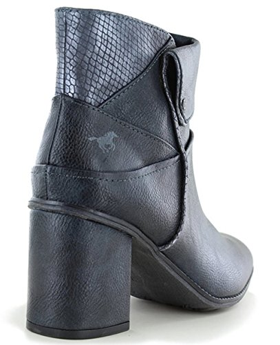 Mustang - Stivali Combat donna Navy and Grey