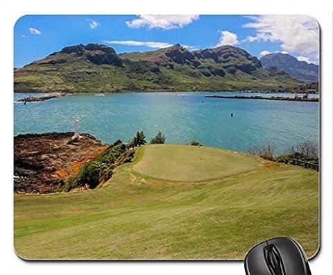 Princeville Golf Course Kauai Lagoons Hawaii Mouse Pad, Mousepad (Beaches Mouse Pad)