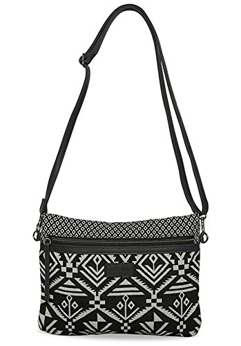 Volcom In The Mix Crossbody -Holidays 2017-(E6541776_BLC) - Black Combo - One Size Black Combo