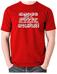 Red Dwarf - Smoke me a Kipper I'll be Back for Breakfast T Shirt