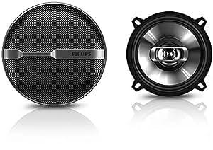 Philips Haut-parleur coaxial pour autoradio CSP515/00 - Enceintes de voiture (2-voies, 180 W, 35 W, 4 Ohm, Néodyme, 45-30000 Hz)