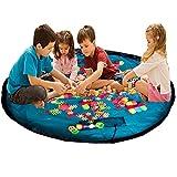 Kinder Spielzeugsack Aufräumsack Spieldecke Mehrzweck-Kid 's Aktivität Reise Picknick Matte