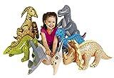 cama24com Dinosaurier aufblasbar 6 Verschiedene Dinos für Kinder als aufblasbare Partydekoration...