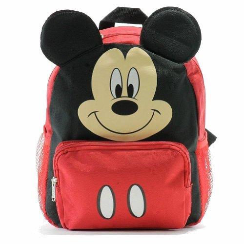 (Geburtstag Geschenk–Disney Mickey Mouse 3D Ohren Rucksack für Kleinkinder und Geschenk-Set)